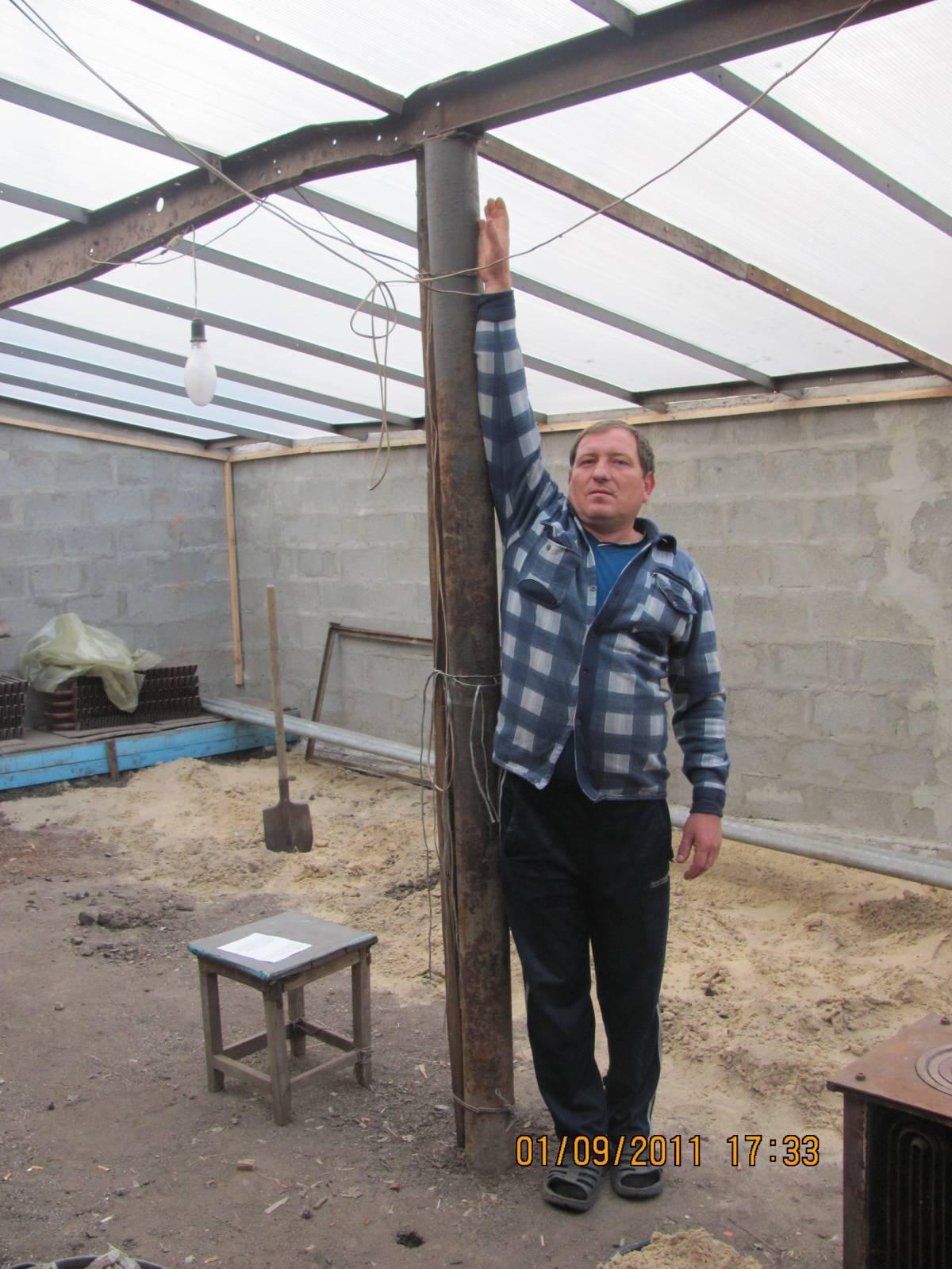 Теплица термос своими руками когда начинать строить